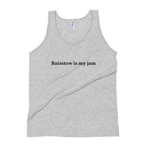 Bairstow is my jam Unisex Tank Top