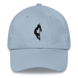 Pole dancer hat (black silhouette)