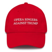 Load image into Gallery viewer, Opera Singers Against Trump Cotton Cap