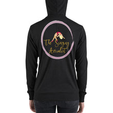 Load image into Gallery viewer, The Singing Aerialist zip hoodie