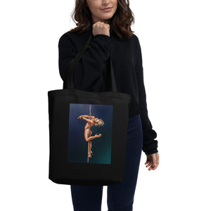 Pinup burlesque pole dancer Eco Tote Bag