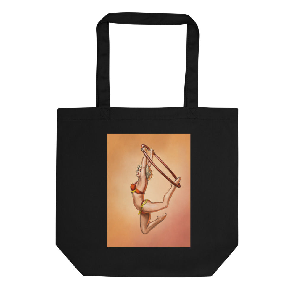 Pinup burlesque aerialist Eco Tote Bag