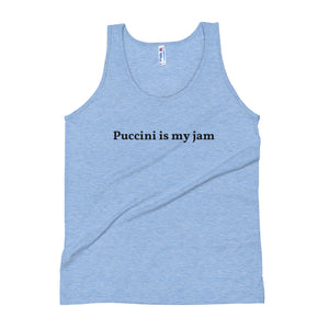 Puccini is my jam Unisex Tank Top