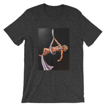 Load image into Gallery viewer, Pinup burlesque aerialist aerial silks acrobat Short-Sleeve Unisex T-Shirt