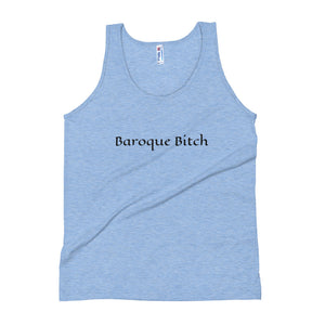 Baroque Bitch Unisex Tank Top