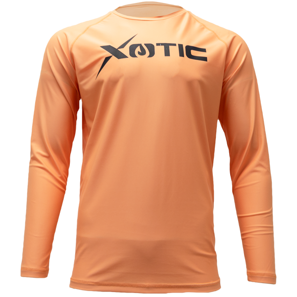 Coral Reef  Long Sleeve Performance Shirt With Repel X