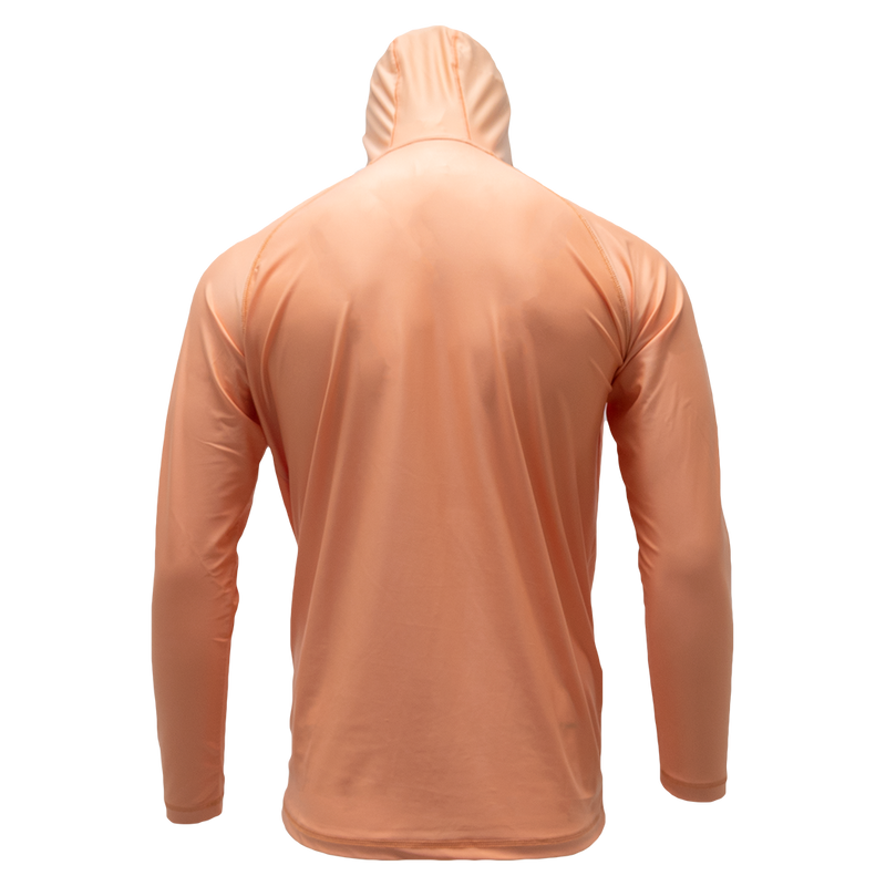 Coral Reef Long Sleeve Hooded Performance Shirt with Repel X