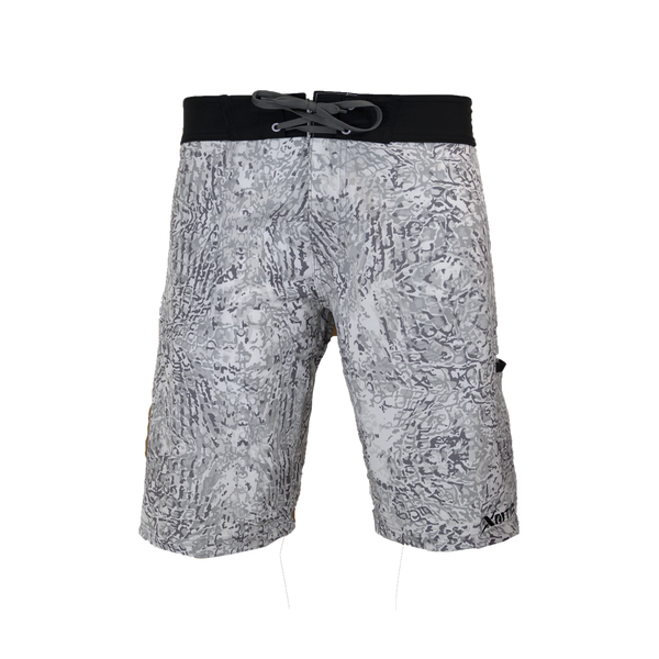 Arctic Camo Performance Fishing Board Shorts-Board Shorts-Xotic Camo & Fishing Gear