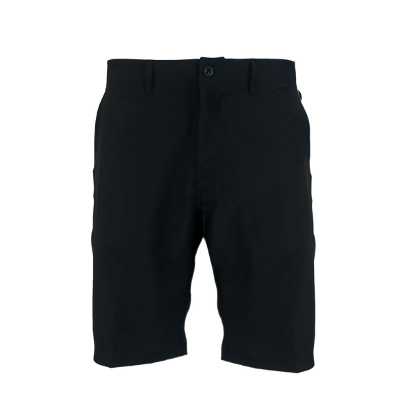Black Hybrid Performance Shorts-Hybrid Shorts-Xotic Camo & Fishing Gear