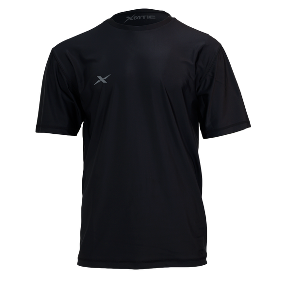 Black Performance Fishing Shirt-Long Sleeve Performance Shirt-Xotic Camo & Fishing Gear