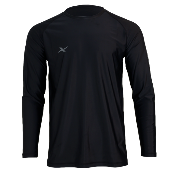 Black Performance Fishing Shirt-Performance Fishing Shirt-Xotic Camo & Fishing Gear