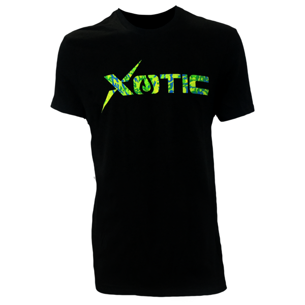 Black T-Shirt with Mahi Logo-Lifestyle Shirts-Xotic Camo & Fishing Gear