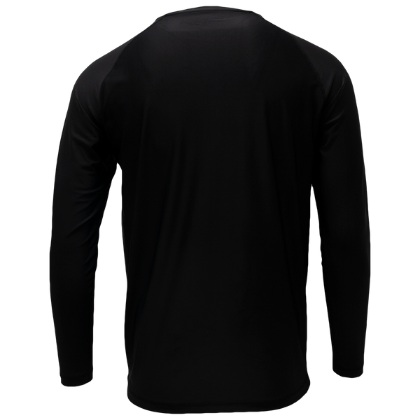 Black Long Sleeve Performance Shirt with Repel X