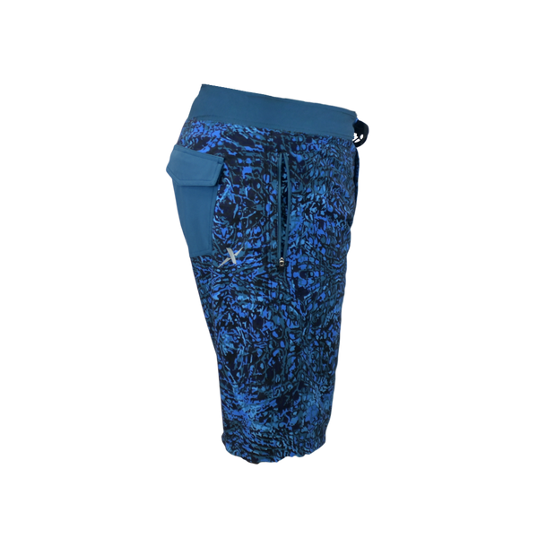 Blue Water Performance Fishing Board Shorts-Board Shorts-Xotic Camo & Fishing Gear