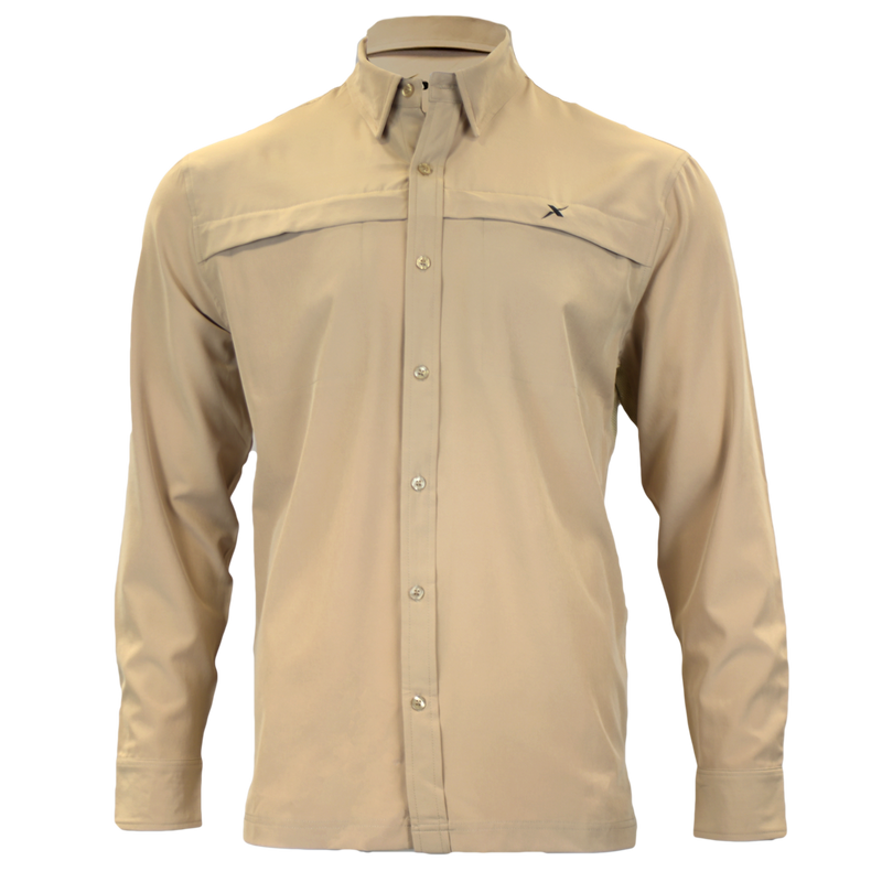 Custom Long Sleeve Button Down-Button Down-Xotic Camo & Fishing Gear