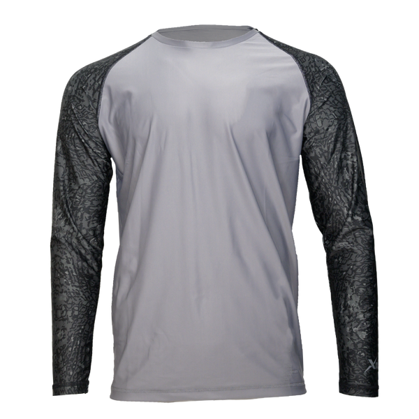Custom Long Sleeve Patterned Performance Shirt-Performance Fishing Shirt-Xotic Camo & Fishing Gear