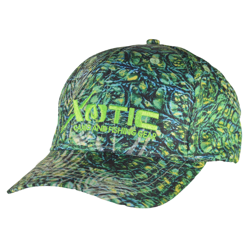 Full Pattern Hunting Fishing Combo Cap-Hat-Xotic Camo & Fishing Gear