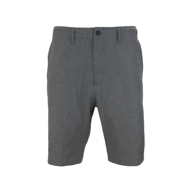 Grey Hybrid Performance Shorts-Hybrid Shorts-Xotic Camo & Fishing Gear