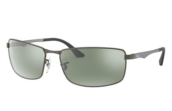 Gunmetal Silver Flash Polarized-Ray-Ban Eyewear-Xotic Camo & Fishing Gear