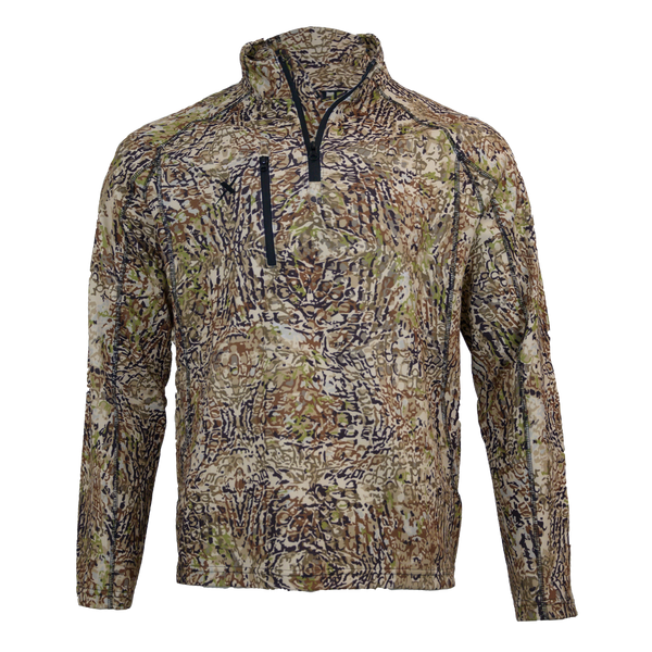 HD Camo 1/4 Zip Hunting Pullover-1/4 Zip-Xotic Camo & Fishing Gear