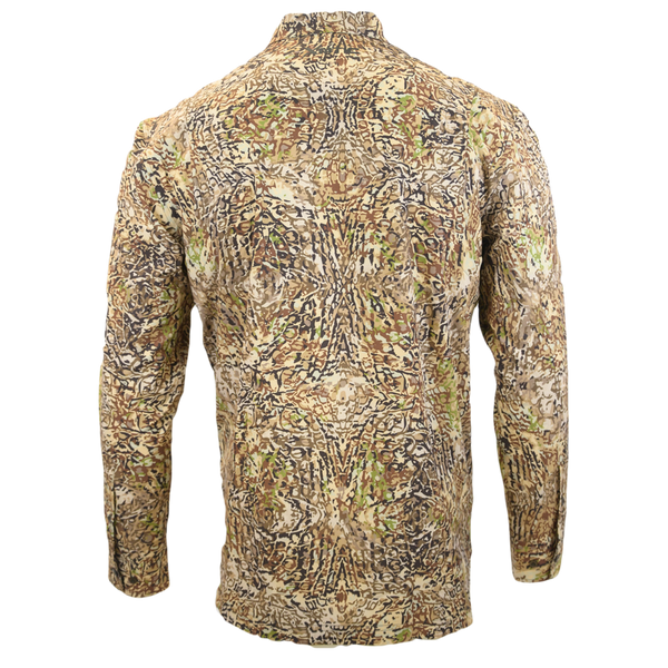 HD Camo Button Down Hunting Shirt-Long Sleeve Woven Shirt-Xotic Camo & Fishing Gear