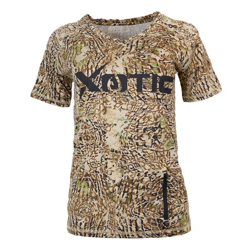 HD Camo Women's Performance Hunting Shirt-Womens Performance Shirt-Xotic Camo & Fishing Gear