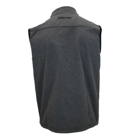 Heather Grey Mens X Vest-X Vest-Xotic Camo & Fishing Gear