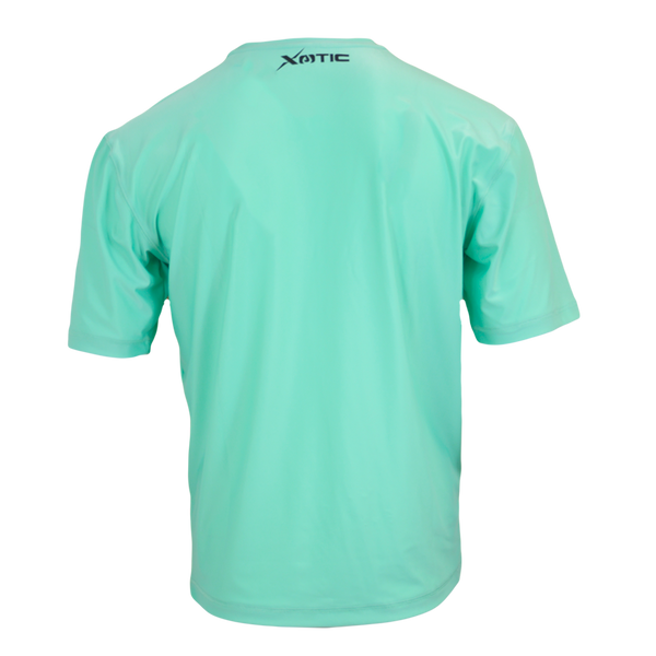 Ice Green Performance Fishing Shirt-Long Sleeve Performance Shirt-Xotic Camo & Fishing Gear