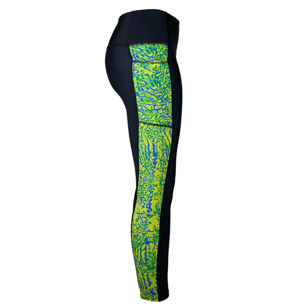 Mahi Fishing Leggings-Leggings-Xotic Camo & Fishing Gear