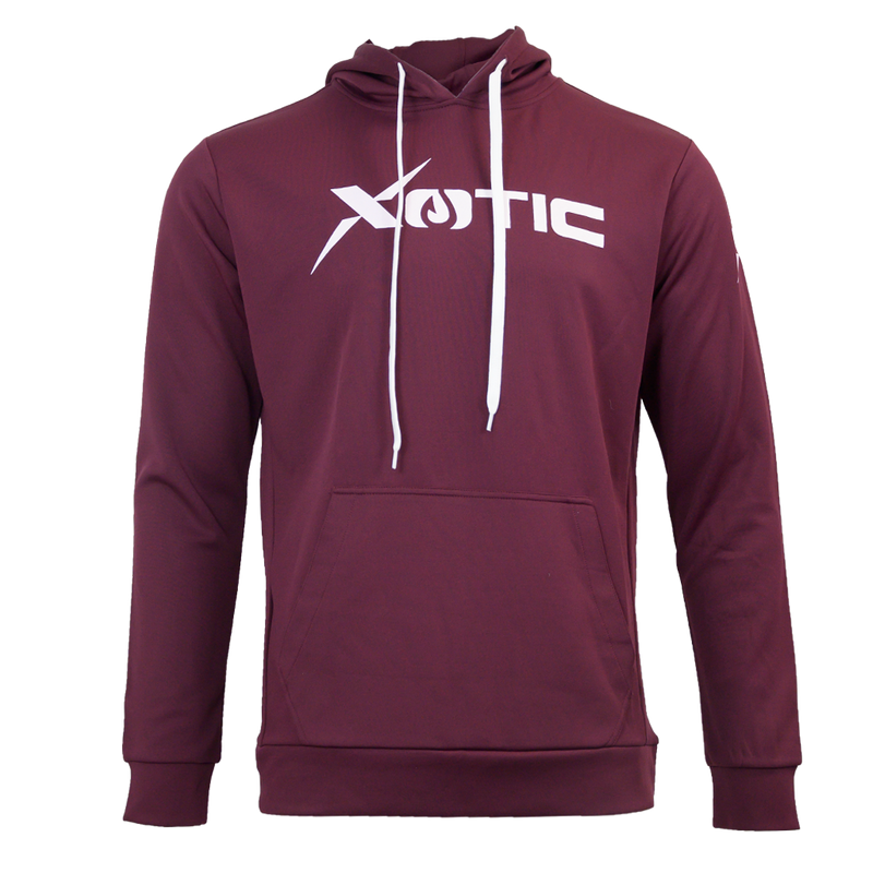 Maroon Lifestyle Hoodie-Hoodie-Xotic Camo & Fishing Gear