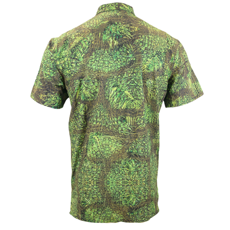OG Camo Button Down Hunting Shirt-Short Sleeve Woven Shirt-Xotic Camo & Fishing Gear