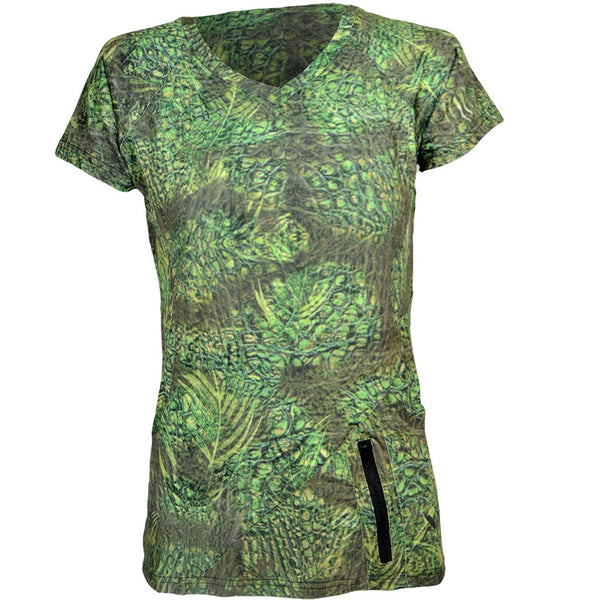 OG Camo Women's Performance Hunting Shirt-Womens Performance Shirt-Xotic Camo & Fishing Gear