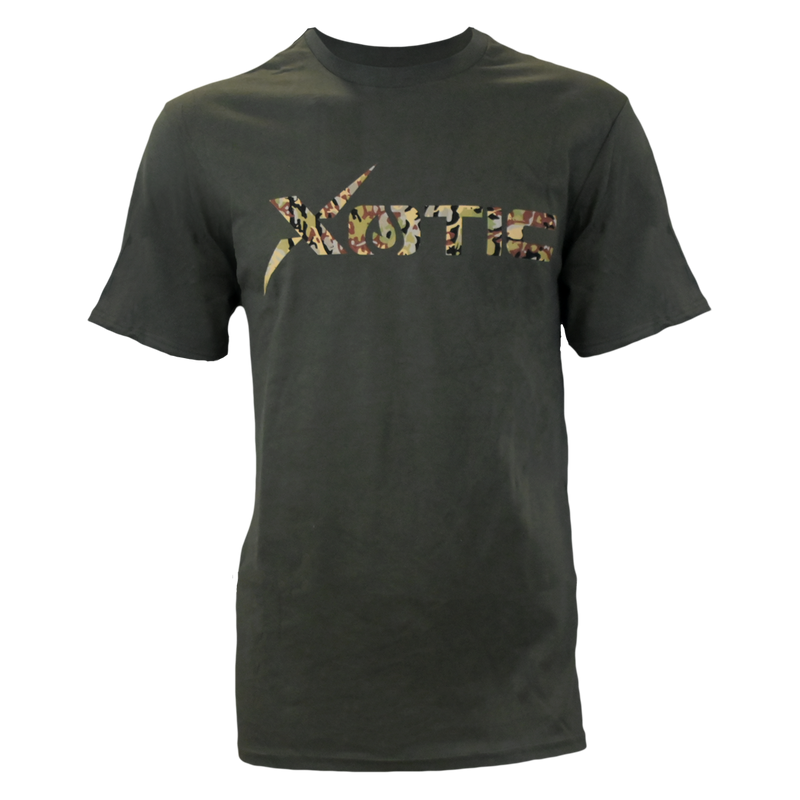 Olive T-Shirt with HD logo-Lifestyle Shirts-Xotic Camo & Fishing Gear