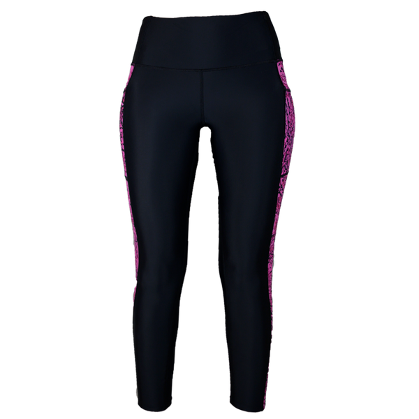 Pink Snapper Fishing Leggings-Leggings-Xotic Camo & Fishing Gear