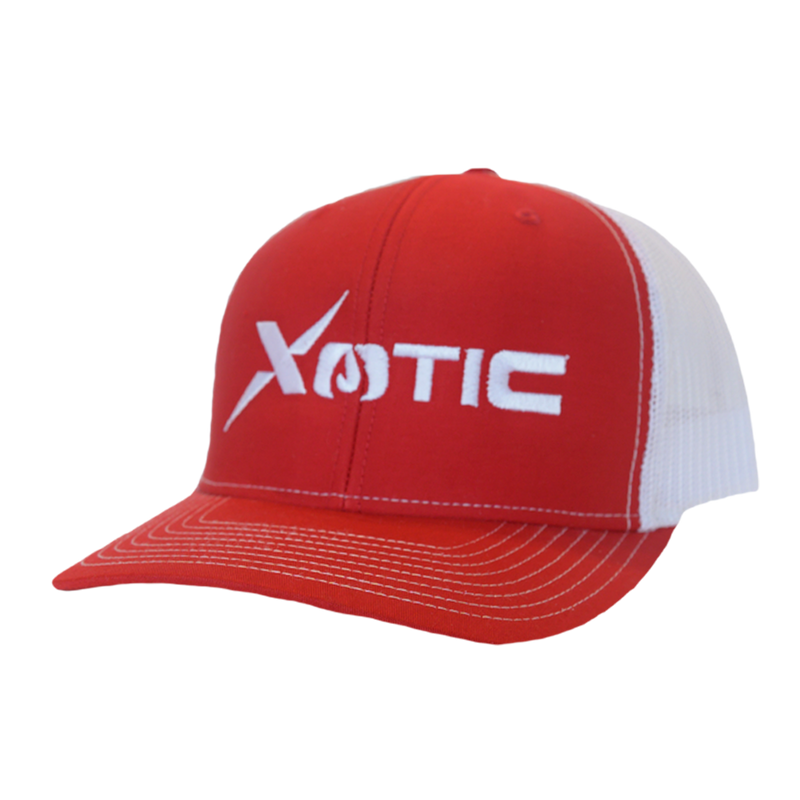 Xotic Red/White Xotic Logo Hat