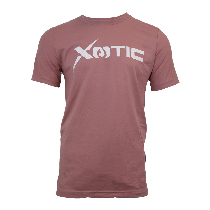 Salmon T-Shirt White Logo-Lifestyle Shirts-Xotic Camo & Fishing Gear