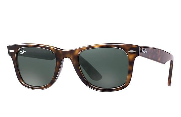 Wayfarer Ease Tortoise Green Classic-Ray-Ban Eyewear-Xotic Camo & Fishing Gear