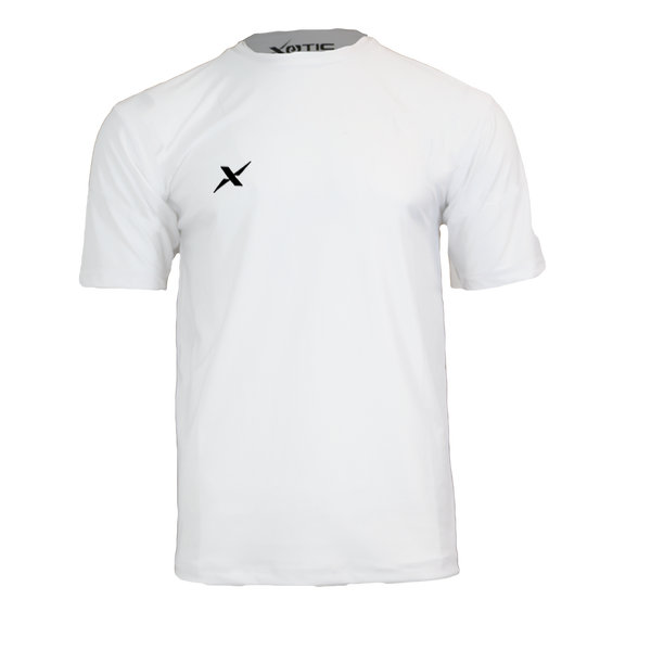 White Performance Fishing Shirt-Long Sleeve Performance Shirt-Xotic Camo & Fishing Gear