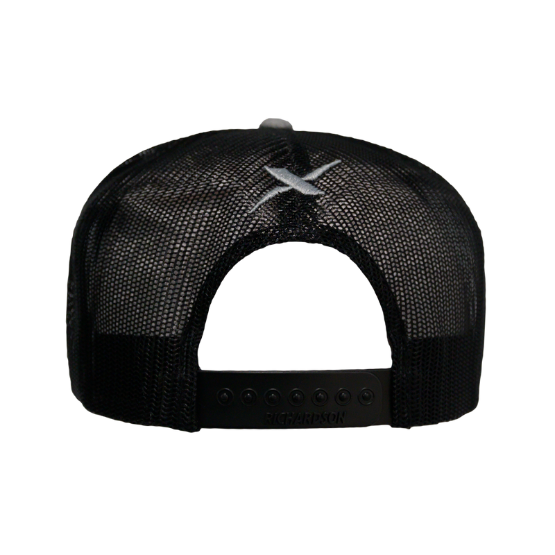 Xotic Black/Black Flatbill-Hat-Xotic Camo & Fishing Gear