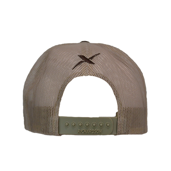Xotic Brown/Khaki Hat-Hat-Xotic Camo & Fishing Gear