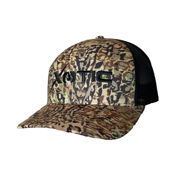 Xotic HD/Black Hat-Hat-Xotic Camo & Fishing Gear