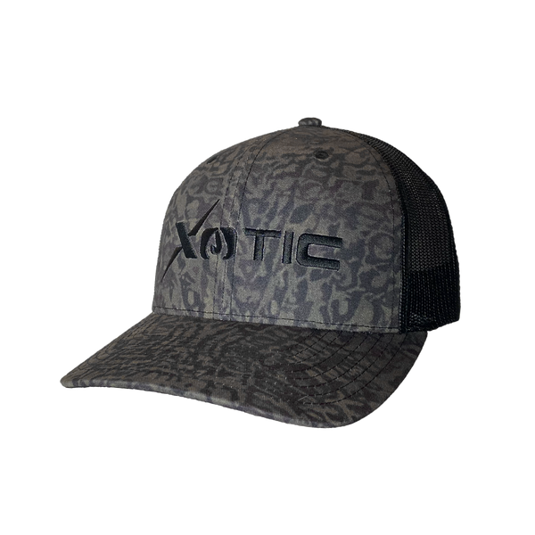 Xotic Recon/Black Hat-Hat-Xotic Camo & Fishing Gear