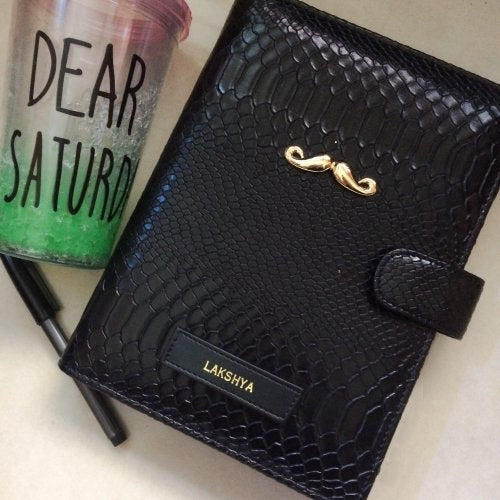 Personalised Leather Planner Diary