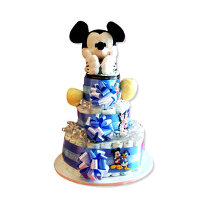 Three Layered Diaper Cake - GiftingWardrobe