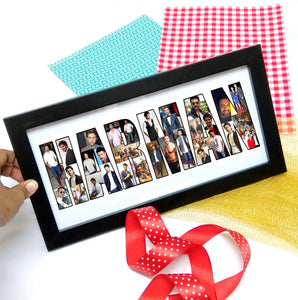 Name Personalised Frame