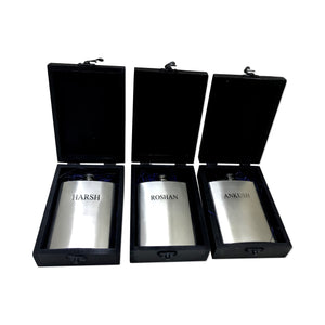 Personalised Hip Flask - GiftingWardrobe