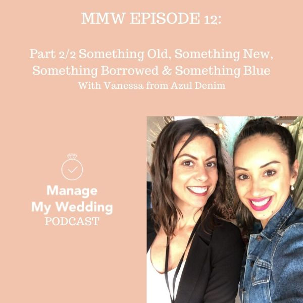MMW 12: Part 2/2 for Something Old, Something New, Something Borrowed & Something Blue