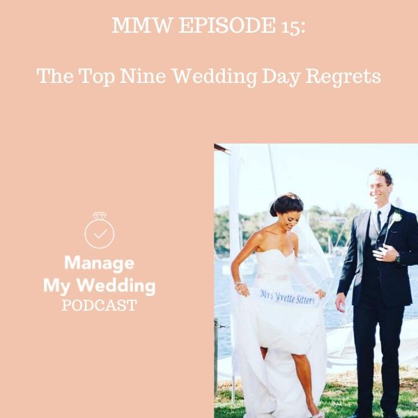 The Top Nine Wedding Day Regrets
