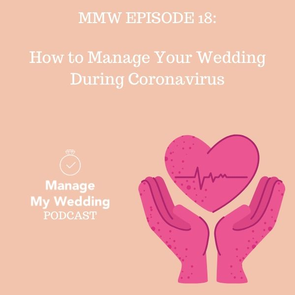 How To Manage Your Wedding During Coronavirus
