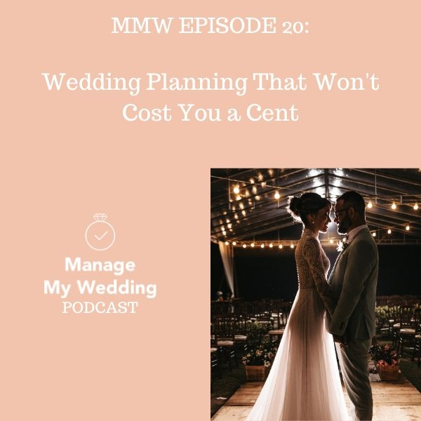 Wedding Planning That Won't Cost You a Cent